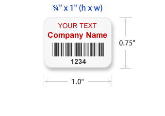 image relating to Printable Asset Tags called Print Your Individual Tamper Evidence Labels